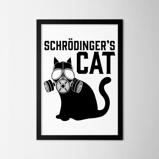 Schrödingers Cat - Northshire - Poster - Dekorasyon - Ev Dekorasyonu - Wall Art - Metal Wall Art - Decoration