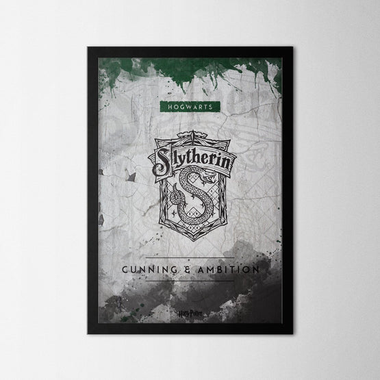 Harry Potter - Slytherin - Northshire - Poster - Dekorasyon - Ev Dekorasyonu - Wall Art - Metal Wall Art - Decoration