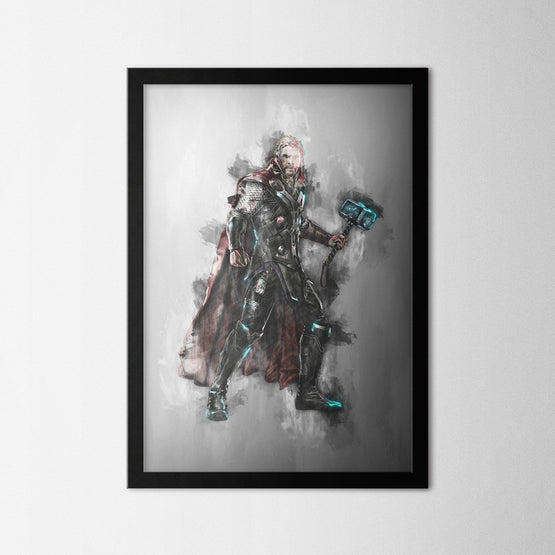 Thor - Northshire - Poster - Dekorasyon - Ev Dekorasyonu - Wall Art - Metal Wall Art - Decoration
