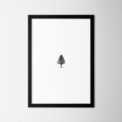 Tree - Northshire - Poster - Dekorasyon - Ev Dekorasyonu - Wall Art - Metal Wall Art - Decoration