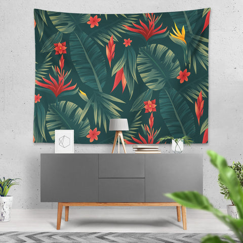 Tropical - Duvar Örtüsü - Northshire - Poster - Dekorasyon - Ev Dekorasyonu - Wall Art - Metal Wall Art - Decoration