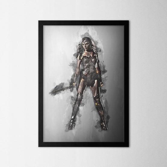 Wonder Woman - Northshire - Poster - Dekorasyon - Ev Dekorasyonu - Wall Art - Metal Wall Art - Decoration