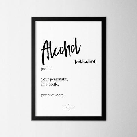 Alcohol - Northshire - Poster - Dekorasyon - Ev Dekorasyonu - Wall Art - Metal Wall Art - Decoration
