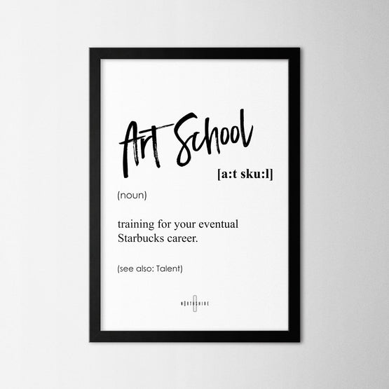 Art School - Northshire - Poster - Dekorasyon - Ev Dekorasyonu - Wall Art - Metal Wall Art - Decoration