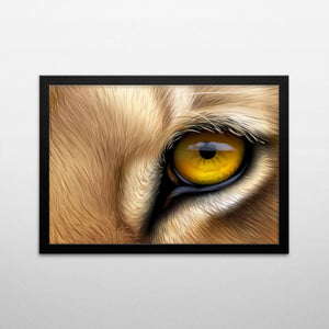 Lion Eyes Poster Set - Northshire