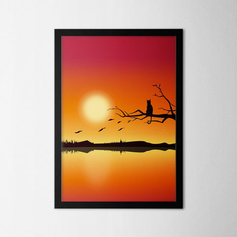 Nature VII - Northshire - Poster - Dekorasyon - Ev Dekorasyonu - Wall Art - Metal Wall Art - Decoration