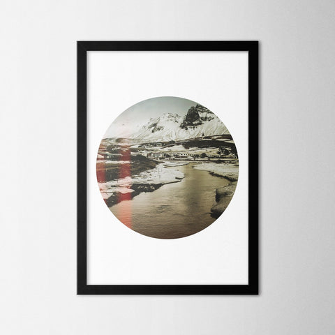 Circle View - Northshire - Poster - Dekorasyon - Ev Dekorasyonu - Wall Art - Metal Wall Art - Decoration