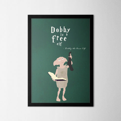 Harry Potter - Dobby - Northshire - Poster - Dekorasyon - Ev Dekorasyonu - Wall Art - Metal Wall Art - Decoration