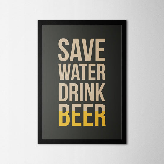 Drink Beer - Northshire - Poster - Dekorasyon - Ev Dekorasyonu - Wall Art - Metal Wall Art - Decoration