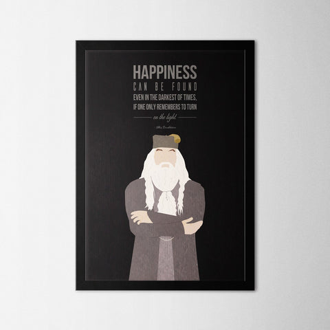 Harry Potter - Dumbledore - Northshire - Poster - Dekorasyon - Ev Dekorasyonu - Wall Art - Metal Wall Art - Decoration
