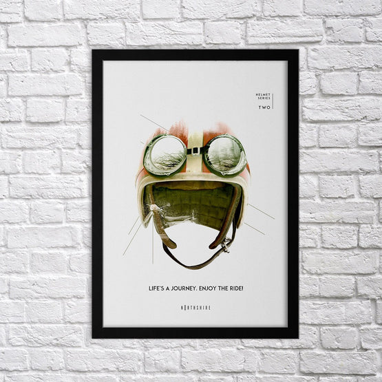 Helmet Set - II - Northshire - Poster - Dekorasyon - Ev Dekorasyonu - Wall Art - Metal Wall Art - Decoration