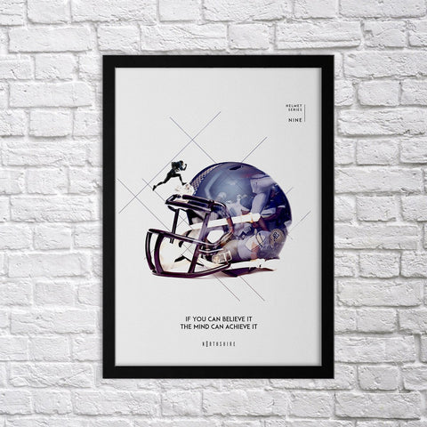 Helmet Set - IX - Northshire - Poster - Dekorasyon - Ev Dekorasyonu - Wall Art - Metal Wall Art - Decoration