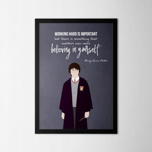 Harry Potter - Harry - Northshire Art Prints - Metal Dekorasyon - Poster - Dekorasyon - Ev Dekorasyonu - Duvar Süsü