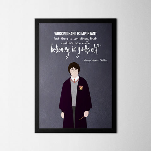 Harry Potter - Harry - Northshire - Poster - Dekorasyon - Ev Dekorasyonu - Wall Art - Metal Wall Art - Decoration