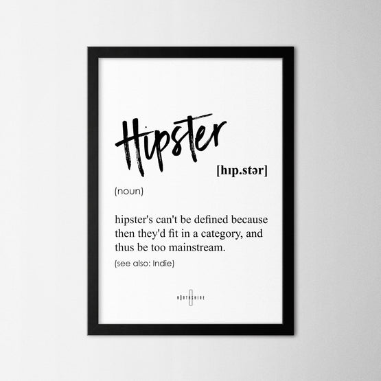 Hipster - Northshire - Poster - Dekorasyon - Ev Dekorasyonu - Wall Art - Metal Wall Art - Decoration
