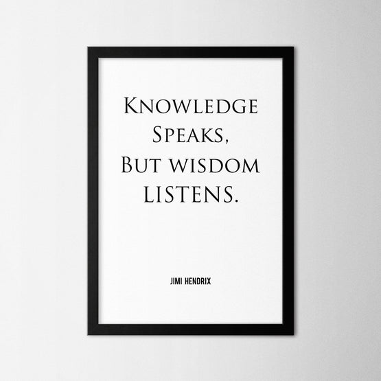 Knowledge - Northshire - Poster - Dekorasyon - Ev Dekorasyonu - Wall Art - Metal Wall Art - Decoration