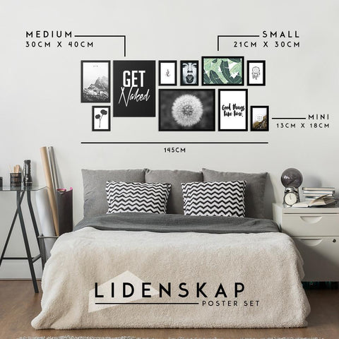 Lidenskap Poster Set - Northshire - Poster - Dekorasyon - Ev Dekorasyonu - Wall Art - Metal Wall Art - Decoration