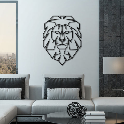 Leo - Metal Dekorasyon - Northshire - Poster - Dekorasyon - Ev Dekorasyonu - Wall Art - Metal Wall Art - Decoration
