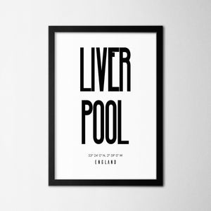Liverpool - Northshire - Poster - Dekorasyon - Ev Dekorasyonu - Wall Art - Metal Wall Art - Decoration
