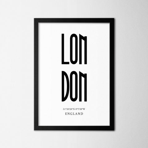 London - Northshire Art Prints - Poster - Dekorasyon