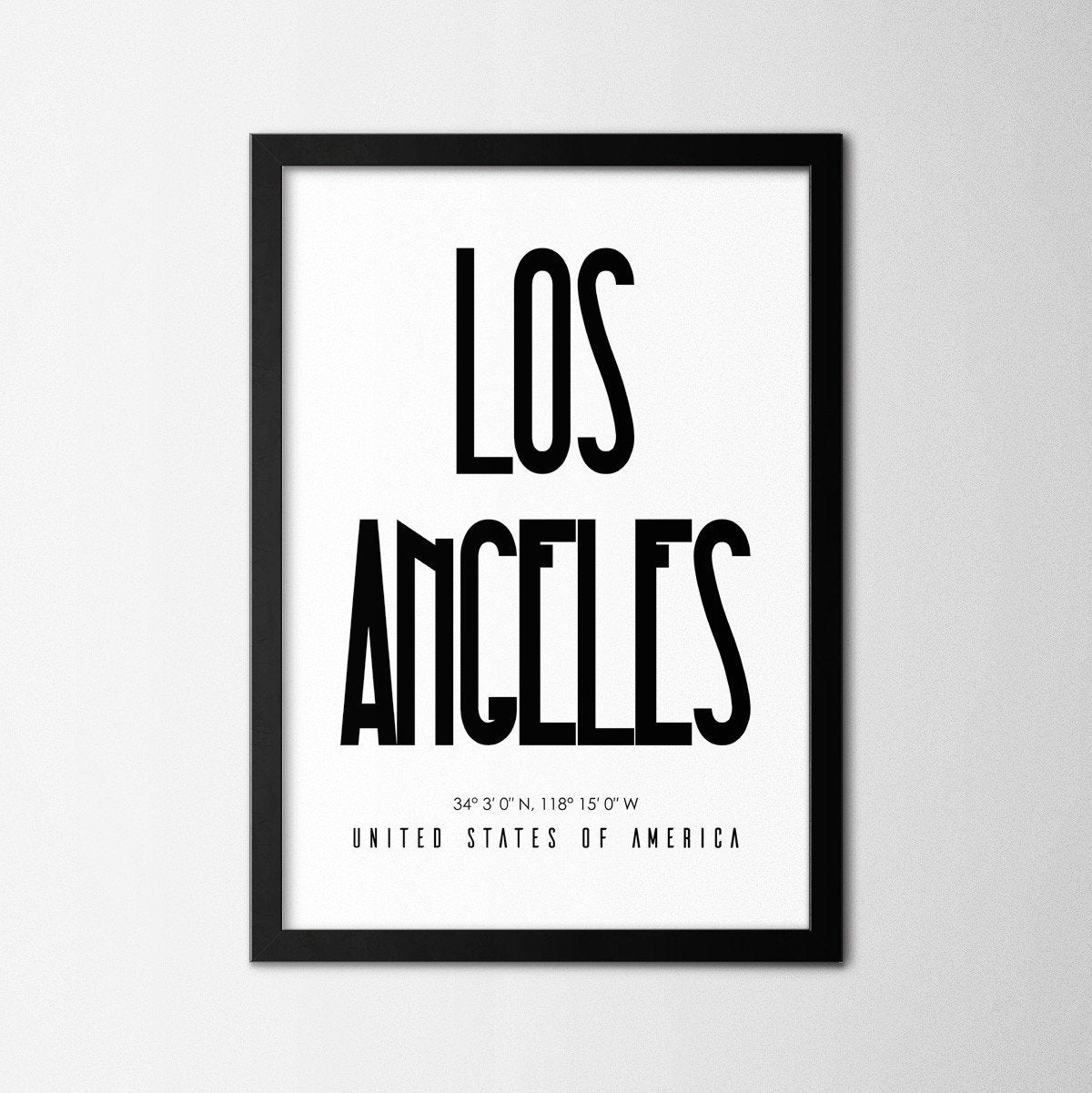 Los Angeles - Northshire Art Prints - Poster - Dekorasyon