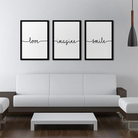 Love Set - Northshire - Poster - Dekorasyon - Ev Dekorasyonu - Wall Art - Metal Wall Art - Decoration