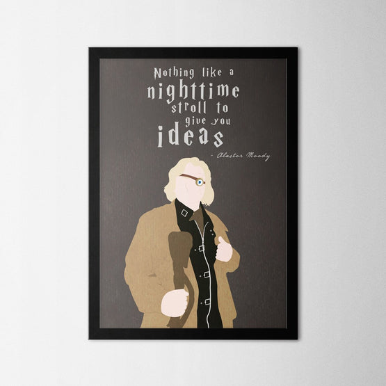Harry Potter - Mad-Eye Moody - Northshire - Poster - Dekorasyon - Ev Dekorasyonu - Wall Art - Metal Wall Art - Decoration