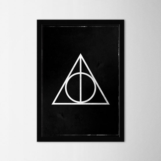 Harry Potter - Deathly Hallows - Northshire - Poster - Dekorasyon - Ev Dekorasyonu - Wall Art - Metal Wall Art - Decoration