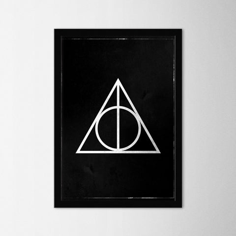 Harry Potter - Deathly Hallows - Northshire Art Prints - Poster - Dekorasyon