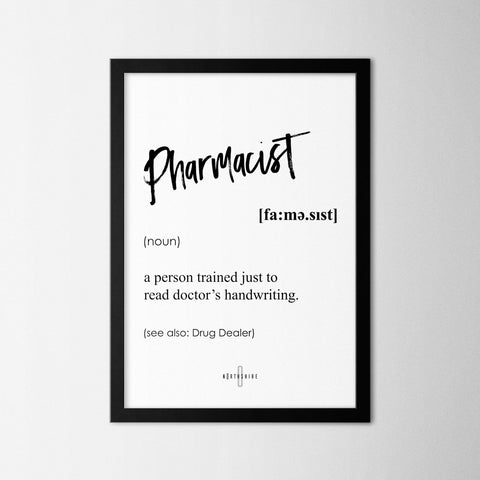 Pharmacist - Northshire - Poster - Dekorasyon - Ev Dekorasyonu - Wall Art - Metal Wall Art - Decoration