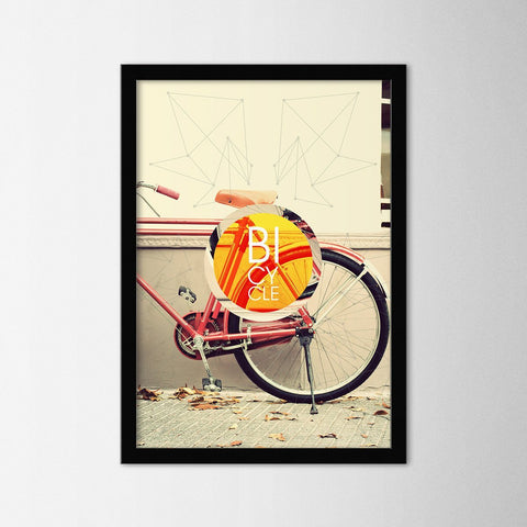 Bicycle - Northshire - Poster - Dekorasyon - Ev Dekorasyonu - Wall Art - Metal Wall Art - Decoration