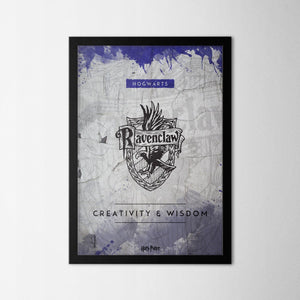 Harry Potter - Ravenclaw - Northshire - Poster - Dekorasyon - Ev Dekorasyonu - Wall Art - Metal Wall Art - Decoration