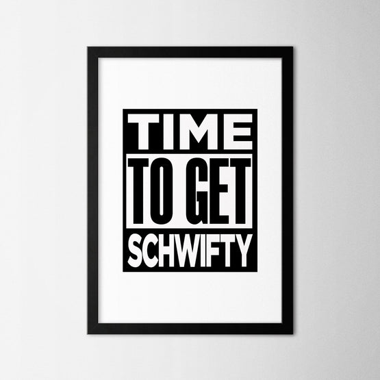 Rick & Morty - Schwifty - Northshire - Poster - Dekorasyon - Ev Dekorasyonu - Wall Art - Metal Wall Art - Decoration