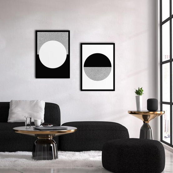 Circle Poster Set - Northshire - Poster - Dekorasyon - Ev Dekorasyonu - Wall Art - Metal Wall Art - Decoration