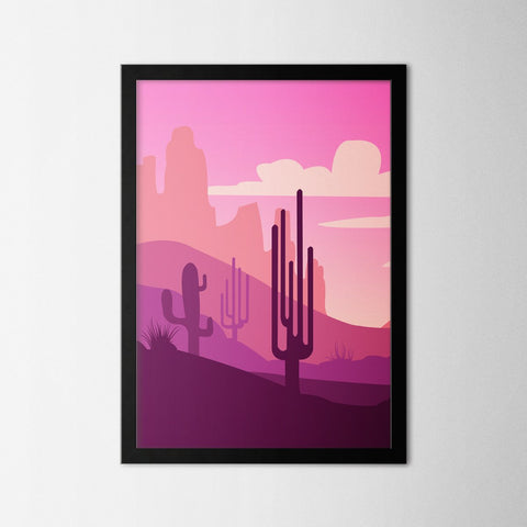 Arizona Set - Northshire - Poster - Dekorasyon - Ev Dekorasyonu - Wall Art - Metal Wall Art - Decoration