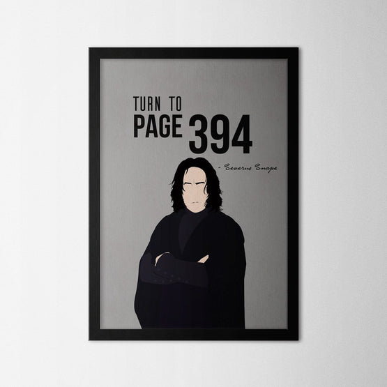 Harry Potter - Snape - Northshire - Poster - Dekorasyon - Ev Dekorasyonu - Wall Art - Metal Wall Art - Decoration