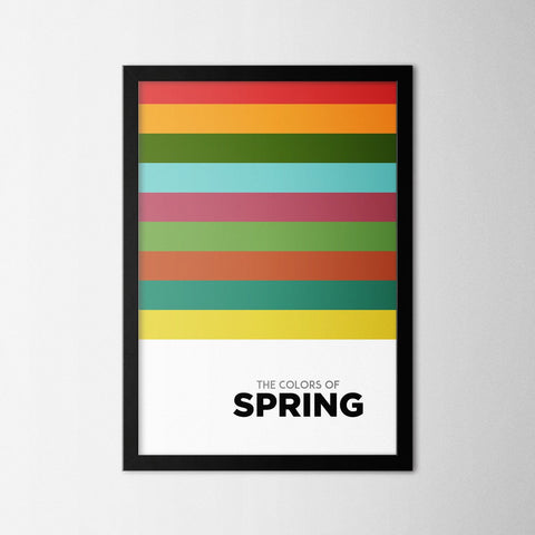 Colors of Seasons - Spring - Northshire Art Prints - Poster - Dekorasyon