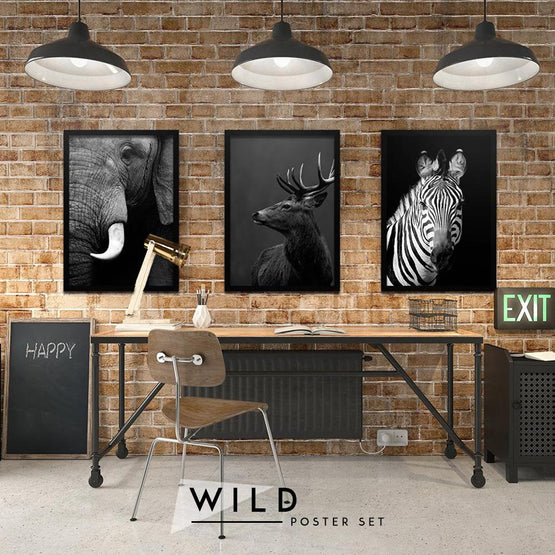 Wild Set - Northshire - Poster - Dekorasyon - Ev Dekorasyonu - Wall Art - Metal Wall Art - Decoration
