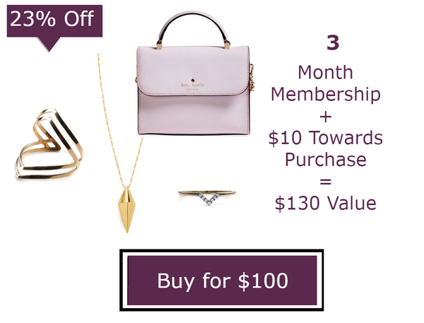 3 Months - Unlimited Handbags & Jewelry Membership