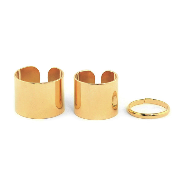 Trio Stack Gold Ring