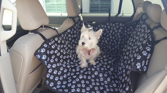 This Dog Back Seat Cover Makes Your Dog Travel In Style