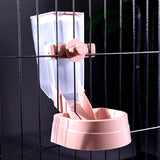 Pet Hanging Bowl Attaches to Dog Cages
