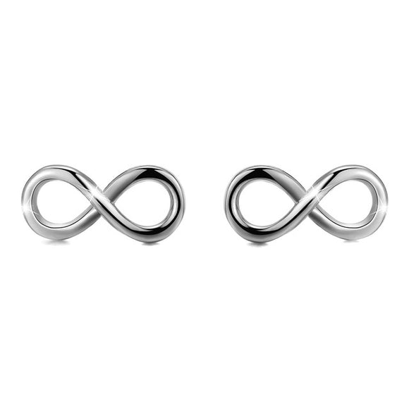 ETERNITY STERLING SILVER EARRINGS