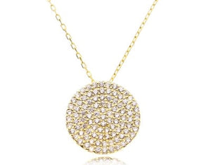 KELLY DISC NECKLACE