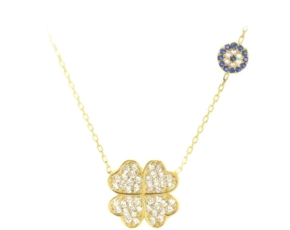 LAUREN CLOVER NECKLACE