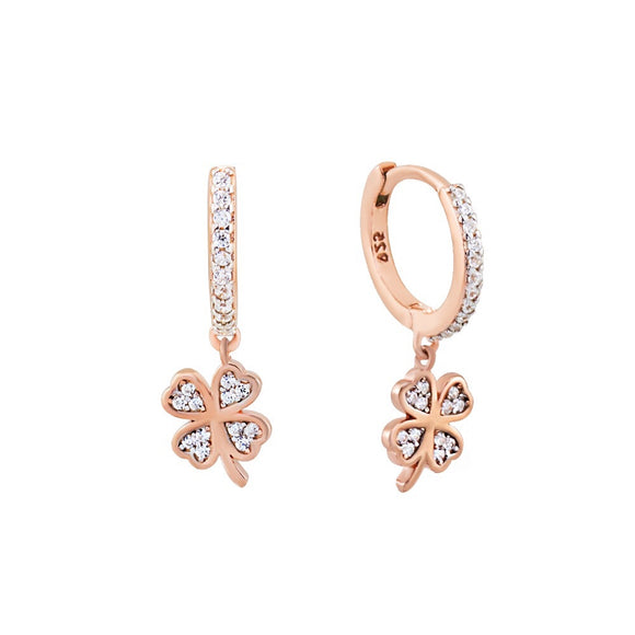 LIZZY HANGING CLOVER EARRINGS