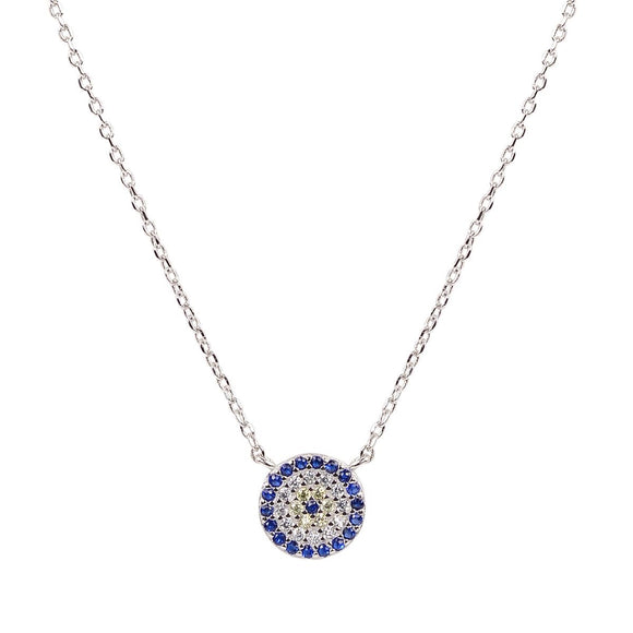 angelina evil eye necklace