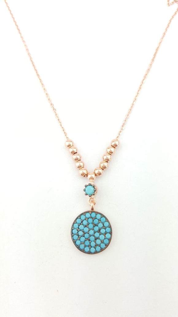 LAURA TURQUOISE NECKLACE