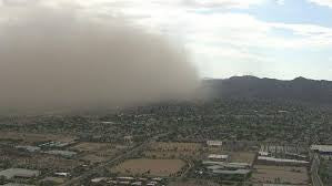 Clark County issues dust advisory for Monday