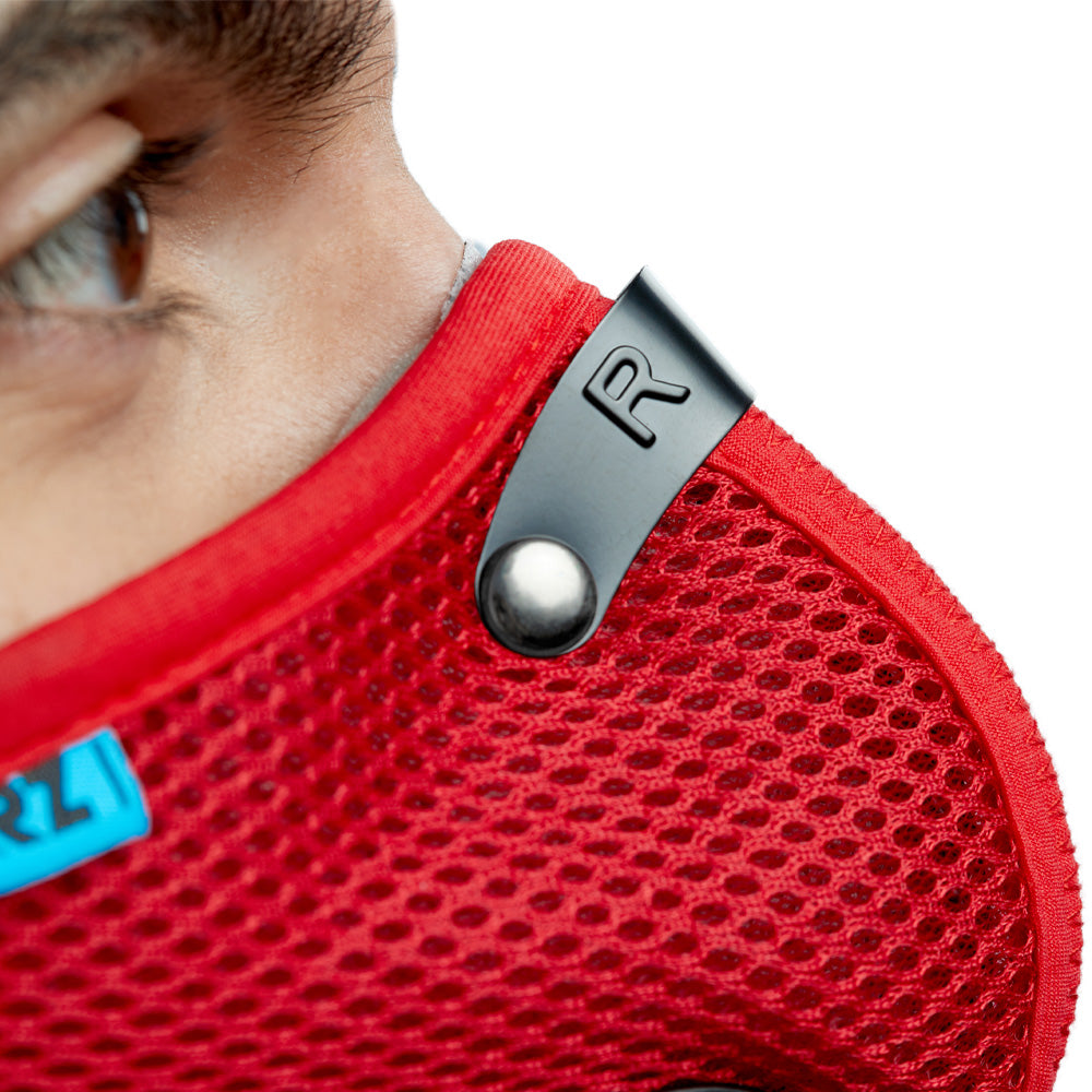 Red RZ M2 Mesh adjustable metal nose clip